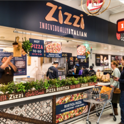 Zizzi teams up with Sainsbury's to offer range of fresh, ready to eat Zizzi Rustica pizzas in-store