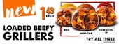 Taco Bell heats up January with Loaded Beefy Grillers value range