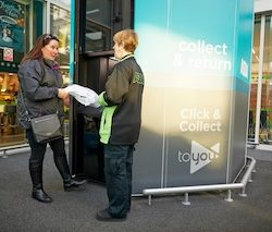 UK's first parcel vending machine comes to Asda Trafford Park