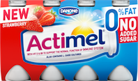 Actimel reformulates whole 0% range with no added sugar