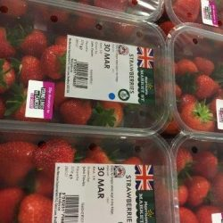 Morrisons reintroduces promotional packs of British strawberries and supports CLIC Sargent