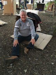 Blakemore retail colleague sleeps rough for homeless charities