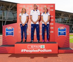 British Athletics partner Spar to boost community sport with The People's Podium