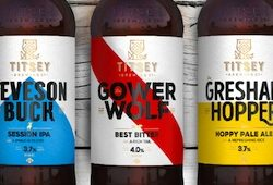 PB Creative delivers a rich and compelling brand story for Titsey Brewing Co