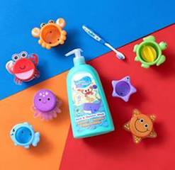 Bathtime Buddies makes a splash at the Great British Bathtime