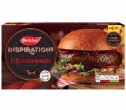 Birds Eye launches new Inspirations burgers for the summer