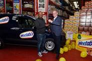 Weetabix hands three new vans over to retailers following competition