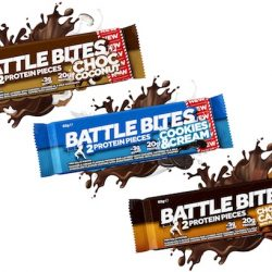 New low sugar high protein Battle Bites launched