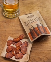 Mangalitza Salami Chips – third chapter of Made for Drink's tasty snacking trilogy