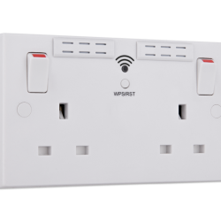 Five reasons why you need BG Electrical's Wi-Fi range extender sockets