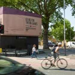 """Currys PC World outdoor campaign encourages fans to """"Go Big for The Big Games,"""" ahead of summer of football"""