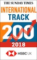 Carrs Foods ranked ninth in The Sunday Times HSBC International Track 200