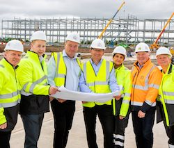 Lidl's new warehouse takes shape at Eurocentral