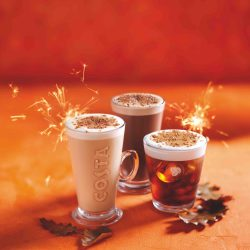 Costa Coffee reveals 'kooky' new seasonal drinks