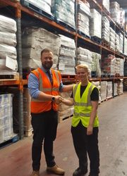 AF Blakemore recruit completes company's new Warehouse & Distribution apprenticeship programme
