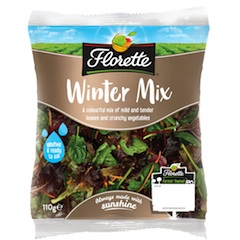 Florette to launch Winter and Sandwich Mixes this autumn
