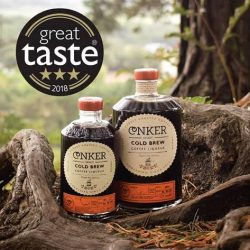 Conker's Cold Brew Coffee Liqueur wins 3 Stars at 2018 Great Taste Awards