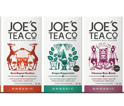 Organically farmed and fairly traded tea range from Joe's Tea Co. launches on Ocado.com