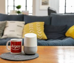 Argos customers can now 'Voice Shop'  20,000 products using Google Assistant