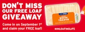 One Stop launches own label bread range with free giveaway of 50,000 loaves