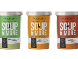 Pep & Lekker: soups in step with today's healthier living aspirations