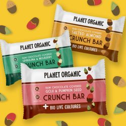 Planet Organic launches gut-friendly probiotic snack bar
