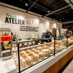 Delhaize showcases 'endless aisle' at new concept store in Nivelles, Belgium