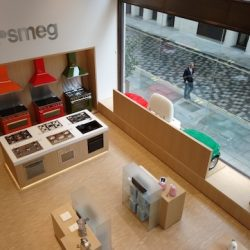 Smeg creates interactive, smart sensory experience for shoppers