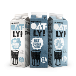 Oatly unveils 'It's like milk, but made for humans' UK campaign