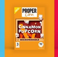 PROPERCORN announces move into microwave popcorn