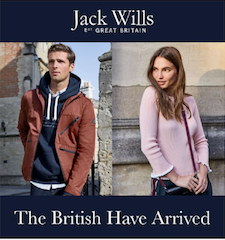 Hundreds of shoppers head to Jack Wills as new store opens at The Square Camberley