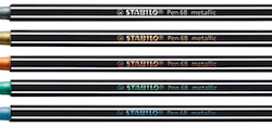 Introducing the all-new Pen 68 metallic from STABILO