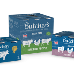 Butcher's Pet Care takes a lead on plastic-free packaging