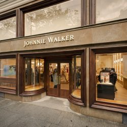 Johnnie Walker opens its first flagship experiential retail store in Madrid