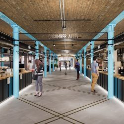 KERB and Shaftesbury to open food hall concept in Thomas Neal's Warehouse, Seven Dials