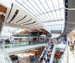 Westfield Stratford City attracted 50 million visitors in the last year, Unibail-Rodamco-Westfield reports