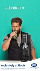 SodaStream rolls out campaign to promote partnership with Boots