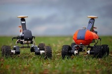 Robocrop: farming robots begin trial at the Waitrose & Partners farm in Leckford