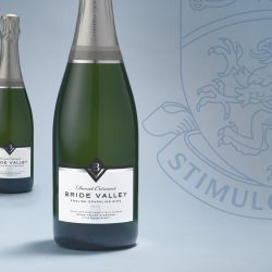 Lewis Moberly crafts refined brand identity for latest English sparkling wine from Bride Valley