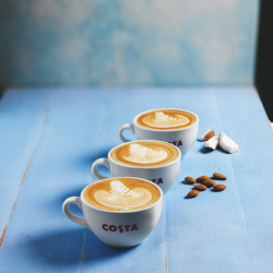 Costa Coffee launches two new milk options
