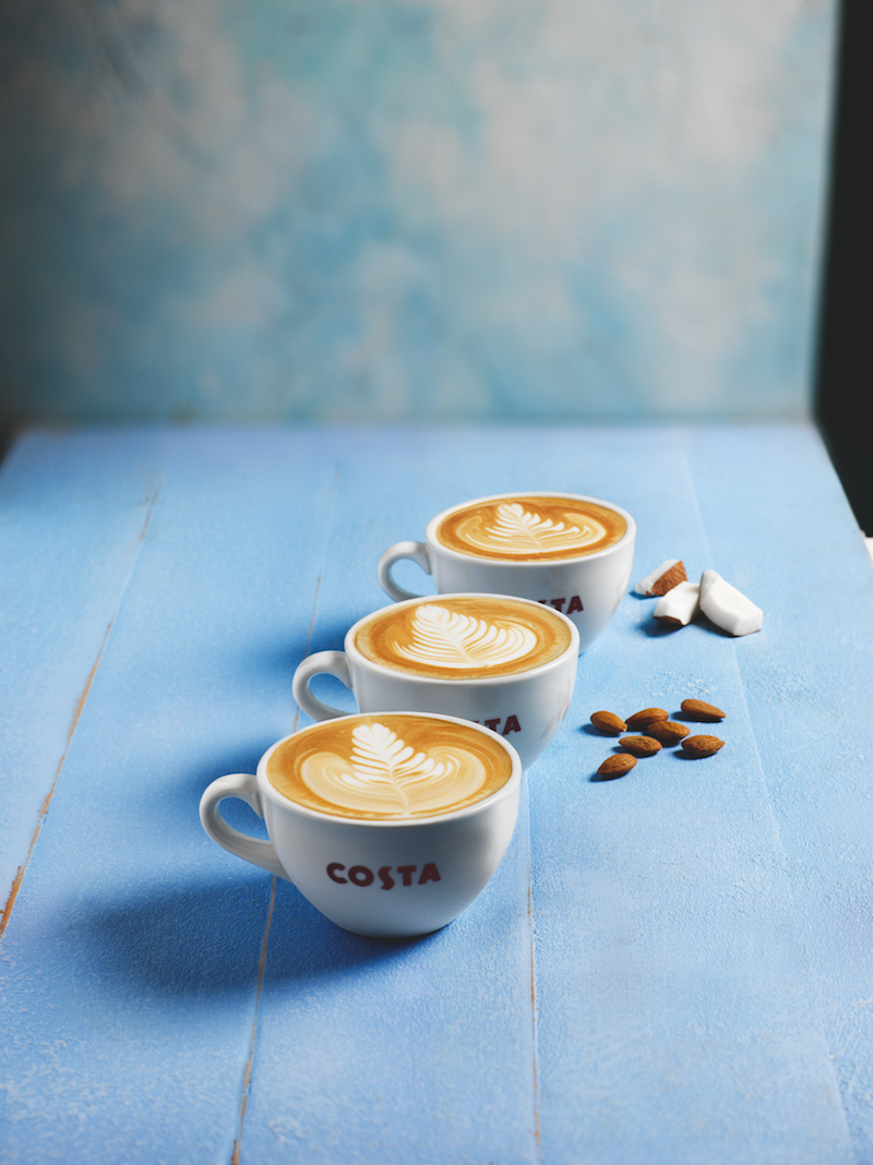 Costa Coffee Launches Two New Milk Options Retail Times