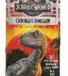 Chocolate confections in Jelly Belly Jurassic World Collection available now