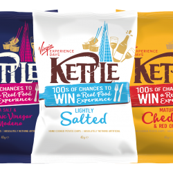 UK's leading premium crisp brand makes an experience of single serve snacks