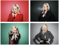 Lily Allen unveiled as face of Vype x House of Holland new collection – shot by Rankin