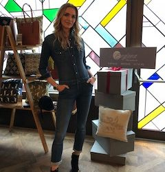 British supermodel, Jodie Kidd supports luxury fashion and lifestyle brand, Englana