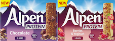 Alpen unveils first protein bars
