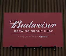 Budweiser Brewing Group UK&I unveiled as new name for AB InBev to mark commitment to UK