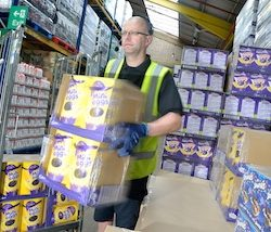 Central England Co-op distribution centre delivers more Easter eggs than ever before to meet demand