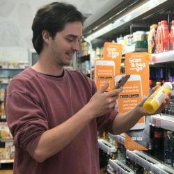 Sainsbury's Holborn Circus Local store refurbished to be mobile-first and check-out free
