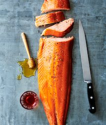 The Pished Fish rakes the plunge with hot-smoked salmon